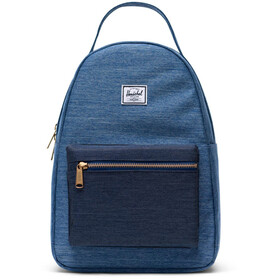 Herschel Nova Small Backpack 17L, faded denim/indigo denim